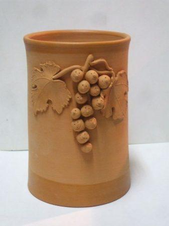 borhűtő szőlőfürttel